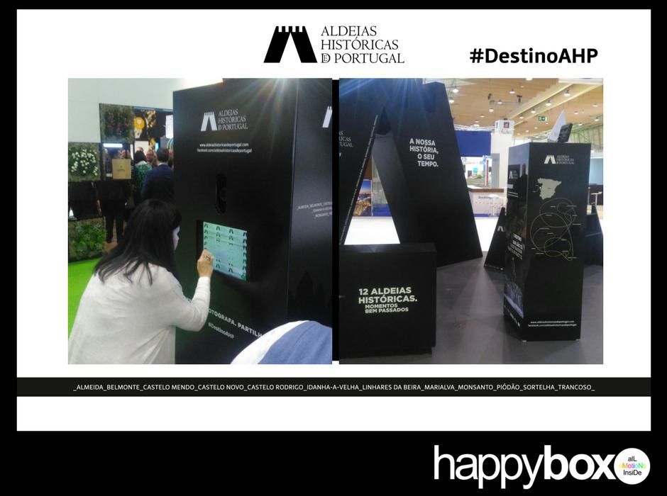 Photobooth para Feiras Empresariais | Aldeias de Portugal na BTL