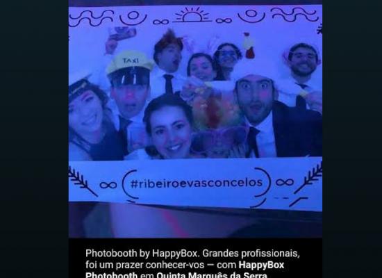 photo booth em casamentos