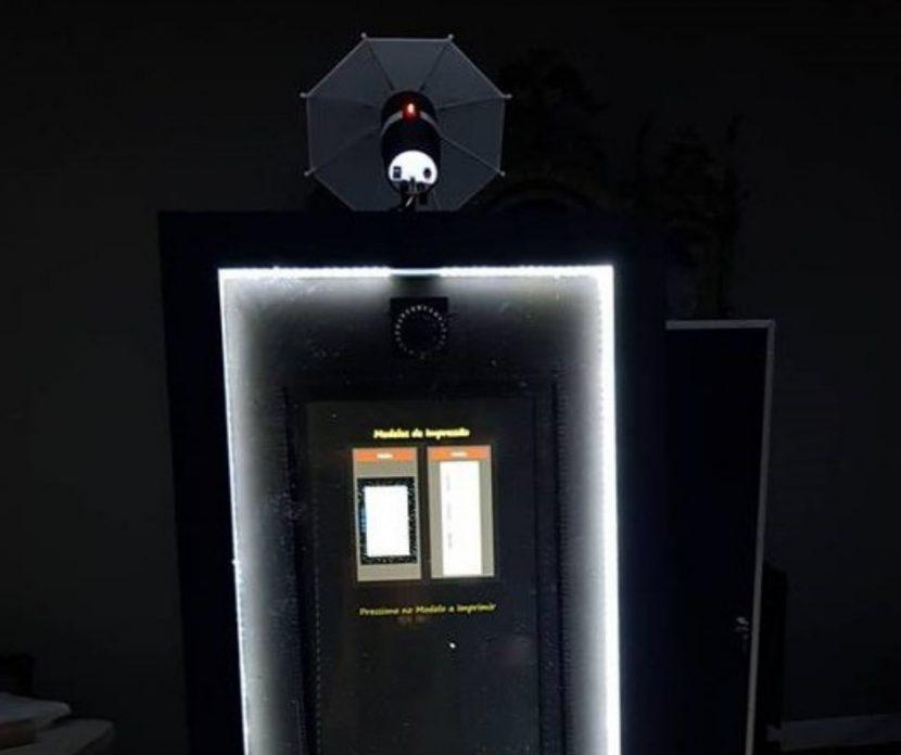 espelho mirror booth